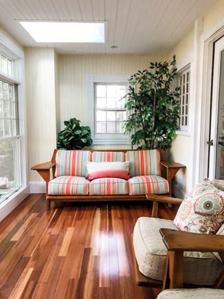Oak Bluffs, East Chop Martha's Vineyard vacation rental - 1st-floor sun room (view 1)