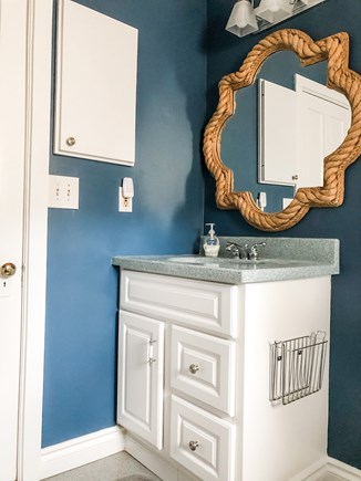Oak Bluffs, East Chop Martha's Vineyard vacation rental - 2nd floor bathroom (hallway access)