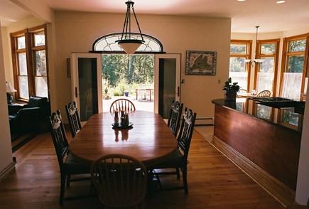 Vineyard Haven Martha's Vineyard vacation rental - Dining Room opening to Sun Deck