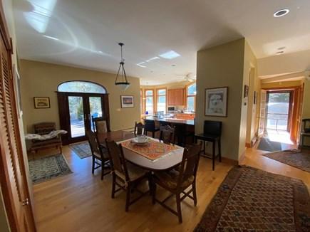 Vineyard Haven Martha's Vineyard vacation rental - Central dining room with open floor plan