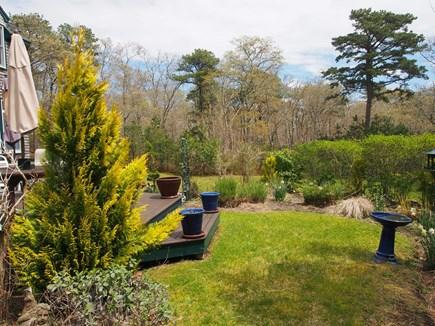 Vineyard Haven Martha's Vineyard vacation rental - Private Garden off Deck
