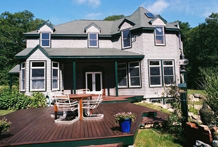 Vineyard Haven Martha's Vineyard vacation rental - South Facing Sun Deck