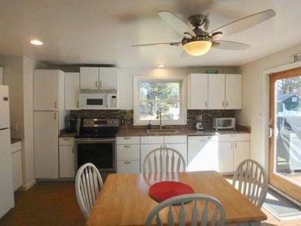 Oak Bluffs Martha's Vineyard vacation rental - Kitchen opens up to deck
