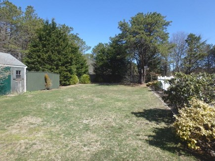 Oak Bluffs Martha's Vineyard vacation rental - Very large private back yard that backs up to am amazing meadow