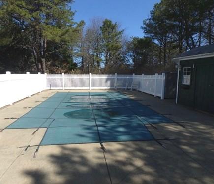 Oak Bluffs Martha's Vineyard vacation rental - Pool located just off the wonderful shaded patio