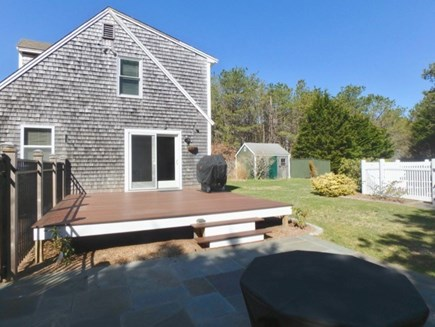 Oak Bluffs Martha's Vineyard vacation rental - Large Deck and Patio for outdoor living