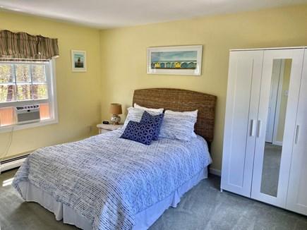 Edgartown Martha's Vineyard vacation rental - 2nd floor bedroom w/ Queen bed and TV