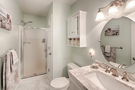Edgartown Martha's Vineyard vacation rental - 1st floor master bathroom, recently updated