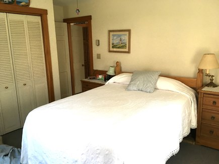 Vineyard Haven Outside of down Martha's Vineyard vacation rental - Master Bedroom Queen Size Bed
