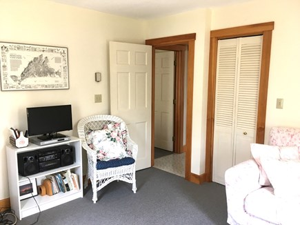 Vineyard Haven Outside of down Martha's Vineyard vacation rental - Den from the opposite side
