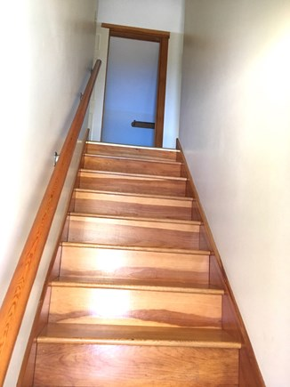 Vineyard Haven Outside of down Martha's Vineyard vacation rental - Stairway to Second Floor