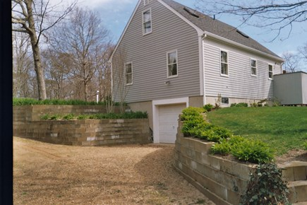 Vineyard Haven Outside of down Martha's Vineyard vacation rental - Side area and parking