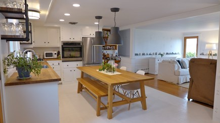 Oak Bluffs Martha's Vineyard vacation rental - Open Floor plan kitchen/dining/living area