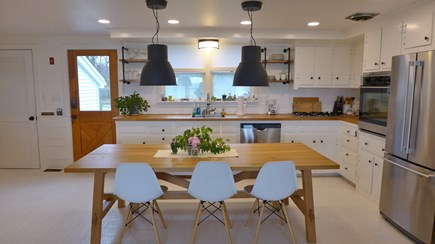 Oak Bluffs Martha's Vineyard vacation rental - Kitchen w/ dining area
