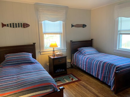 Edgartown Martha's Vineyard vacation rental - 3rd bedroom. There is a full bath just outside the bedroom.
