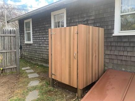 Edgartown Martha's Vineyard vacation rental - Outdoor shower