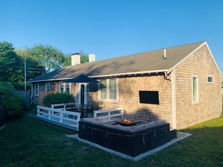 Edgartown Martha's Vineyard vacation rental - Rear Deck and Patio