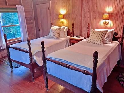 Oak Bluffs, East Chop Martha's Vineyard vacation rental - Twin bedroom with 1/2 bath ensuite.