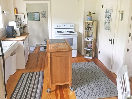Oak Bluffs, East Chop Martha's Vineyard vacation rental - Kitchen view 2. Walk-in pantry through door you see on right.