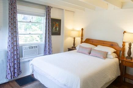 Oak Bluffs, East Chop Martha's Vineyard vacation rental - 1st floor Queen bedroom with full ensuite bathroom, view 1.