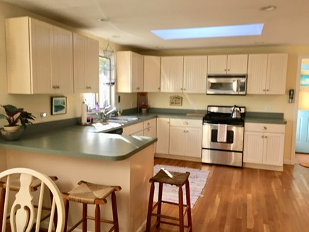 Oak Bluffs Martha's Vineyard vacation rental - Kitchen with extra seating at counter bar