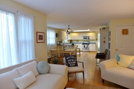 Oak Bluffs Martha's Vineyard vacation rental - Open and airy, kitchen, dining & living room