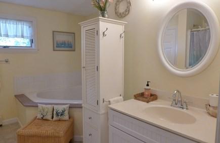 Oak Bluffs Martha's Vineyard vacation rental - Bathroom with soaking tub and separate shower