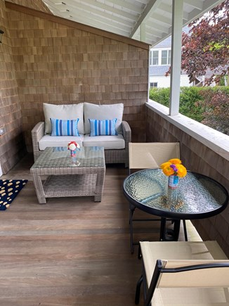 Edgartown Martha's Vineyard vacation rental - Private covered porch.