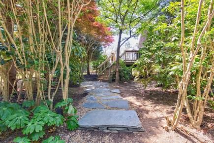 West Tisbury Martha's Vineyard vacation rental - Serene Blue Stone Entry Path