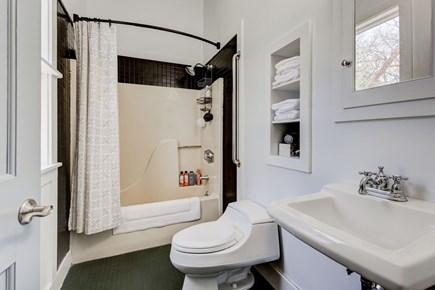 West Tisbury Martha's Vineyard vacation rental - Master Bathroom with Shower & Tub