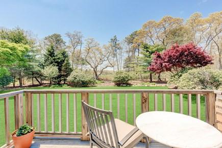 West Tisbury Martha's Vineyard vacation rental - Side Deck View