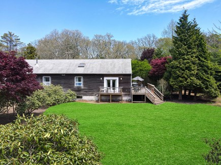 West Tisbury Martha's Vineyard vacation rental - Exterior and Private Back Yard