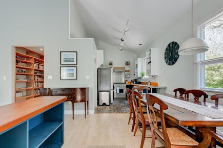 West Tisbury Martha's Vineyard vacation rental - Entry to Open Dining Area That Comfortably Seats 8