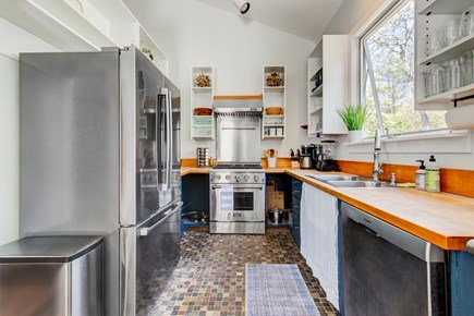 West Tisbury Martha's Vineyard vacation rental - Kitchen With All New Stainless Steel Appliances