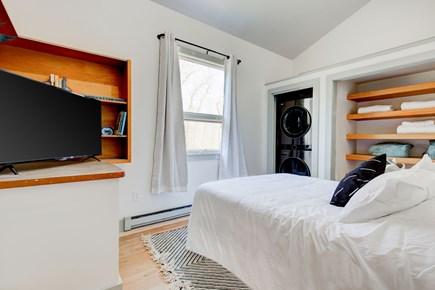 West Tisbury Martha's Vineyard vacation rental - Hallway Bedroom - Queen Bed and Brand New Washer/Dryer