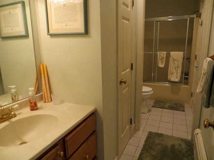 85 Martha's Rd. Edgartown Martha's Vineyard vacation rental - Downstairs bath.