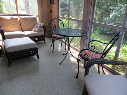85 Martha's Rd. Edgartown Martha's Vineyard vacation rental - Screened in porch.