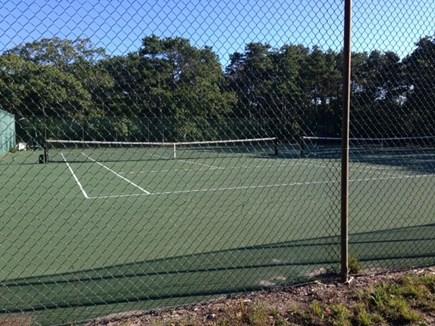 85 Martha's Rd. Edgartown Martha's Vineyard vacation rental - Tennis court