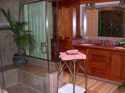 85 Martha's Rd. Edgartown Martha's Vineyard vacation rental - Master bath.