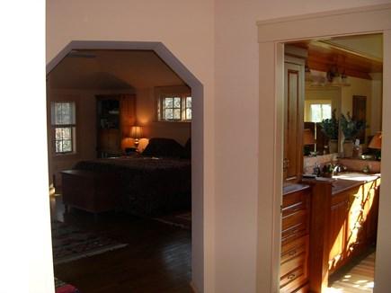 85 Martha's Rd. Edgartown Martha's Vineyard vacation rental - Entrance to Master bedroom and bathroom suite.
