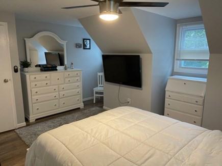 Katama-Edgartown Martha's Vineyard vacation rental - Bedroom 2 with queen bed on second floor view 2
