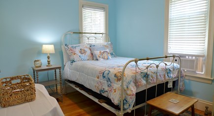 Oak Bluffs Martha's Vineyard vacation rental - 1Fl Full bedroom open to the front porch