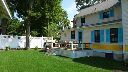 Oak Bluffs Martha's Vineyard vacation rental - Deck for entertaining and relaxing