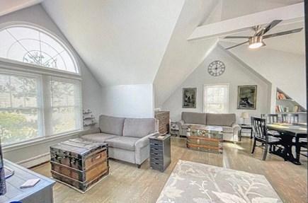 Katama - Edgartown, Katama-Edgartown Martha's Vineyard vacation rental - Guest living area 2nd floor 2 queen American leather sofa beds