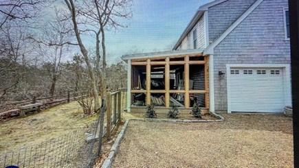 Katama - Edgartown, Katama-Edgartown Martha's Vineyard vacation rental - Guest screened in porch and driveway