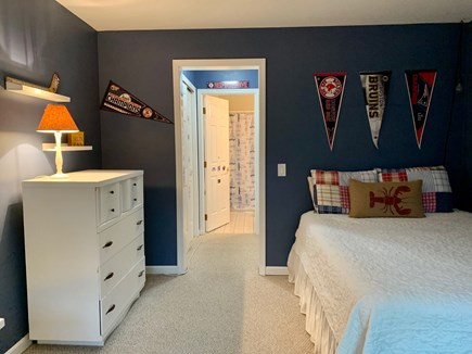 Oak Bluffs Martha's Vineyard vacation rental - First floor bedroom with private bathroom with tub and shower