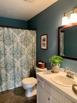 Oak Bluffs Martha's Vineyard vacation rental - First floor bathroom with tub and shower