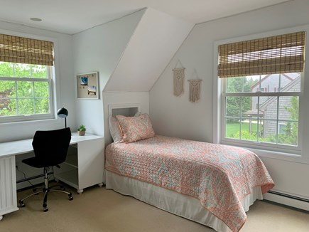 Oak Bluffs Martha's Vineyard vacation rental - Second floor bedroom with 2 twin beds and private bathroom