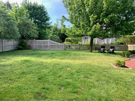 Oak Bluffs Martha's Vineyard vacation rental - Fenced-in backyard ready for all your outdoor games!