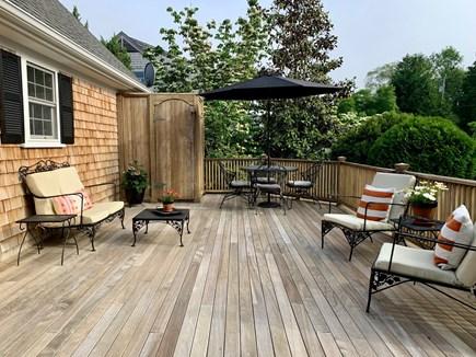 Oak Bluffs Martha's Vineyard vacation rental - Deck with outdoor shower